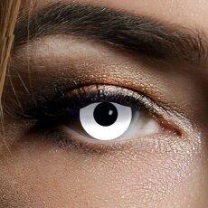 Kontaktlinsen White Zombie 3 Monate, Halloween Zombie Vampir