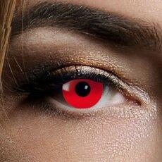 Kontaktlinsen Red Devil 3 Monate, Halloween Zombie...