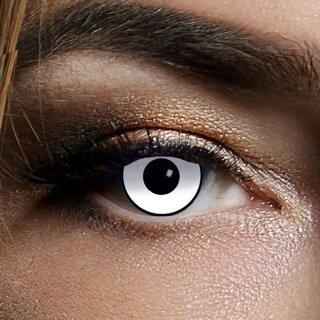 Kontaktlinsen White Manson 3 Monate, Halloween Zombie Vampir