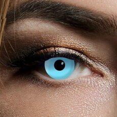 Kontaktlinsen Ice Blue 1 Woche, Halloween Zombie Vampir