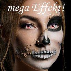 Kontaktlinsen Bloodshot 1 Woche Halloween Zombie Vampir