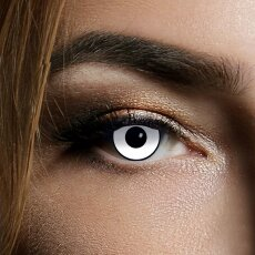 Kontaktlinsen White Manson 1 Woche, Halloween Zombie Vampir