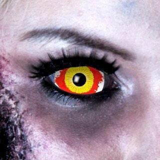 Kontaktlinsen Sclera Damaged Eye 6 Monate
