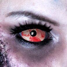 Kontaktlinsen Sclera Red Lava 6 Monate